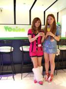 渋谷にギャルカフェ「テンション」-スタッフは敬語禁止、「ハチ公(わんこ)そば」も