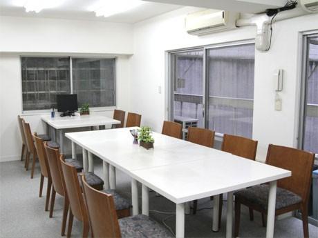 「渋谷の朝学」が開催されるコワーキングスペース「StartUp44田寮」