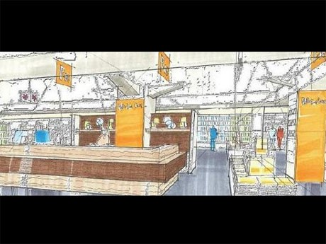 渋谷パルコのリブロ・ロゴスを統合しオープンする「パルコブックセンター渋谷店」のイメージ