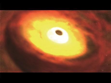 「宇宙 未知への大紀行~ブラックホールに挑む~ プラネタリウム版」より©NHK©渋谷区/NEP