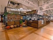 タワレコ渋谷店にカフェ-併設書店と連携、「たまり場」コンセプトに
