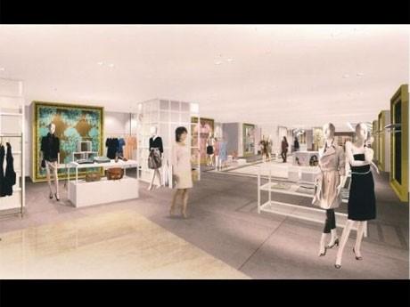NY発「ケイト・スペード ニューヨーク」などが新規出店する6階のイメージ
