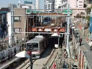 そして代官山駅はこうなった-わずか3時間半で地下化切替工事完了