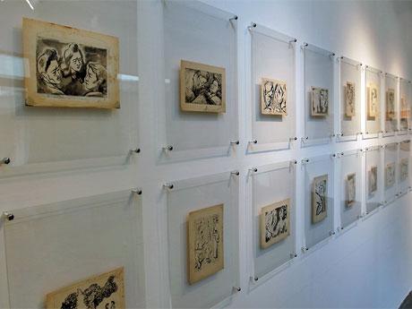 「花妖」の挿絵54点を初公開。写真提供:岡本太郎記念館