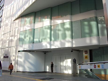 西武渋谷店モヴィーダ館のエントランス付近