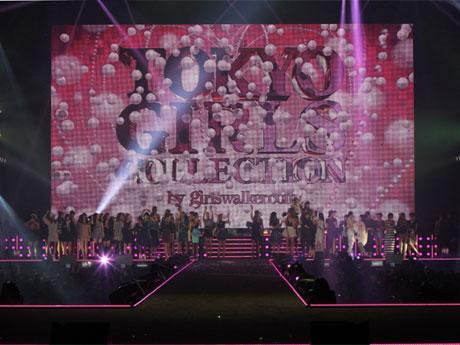前回の会場の様子©TOKYO GIRLS COLLECTION 2013 A/W