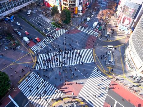 過去問では渋谷駅前・スクランブル交差点に関する問題も出題された
