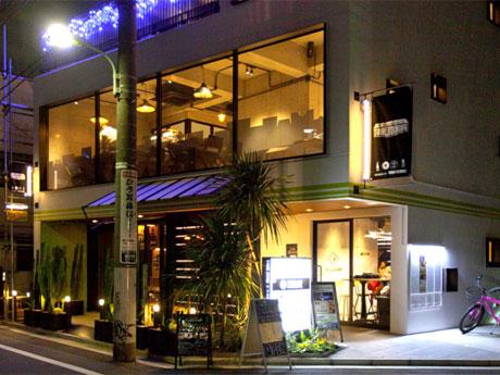 1階・2階の2フロアとなる「TOWER DINING恵比寿店」の外観