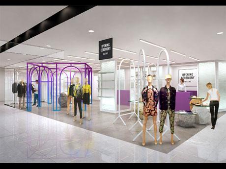 「MONO(=唯一の)SHOP」をコンセプトにする渋谷パルコの店舗イメージ