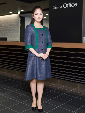 デザイナー中島篤さんが手掛けた制服©渋谷ヒカリエ/JFW