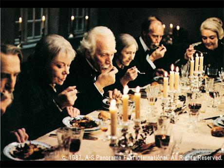 1987年米アカデミー賞最優秀外国語映画賞受賞作品「バベットの晩餐(ばんさん)会」(ガブリエル・アクセル監督)より