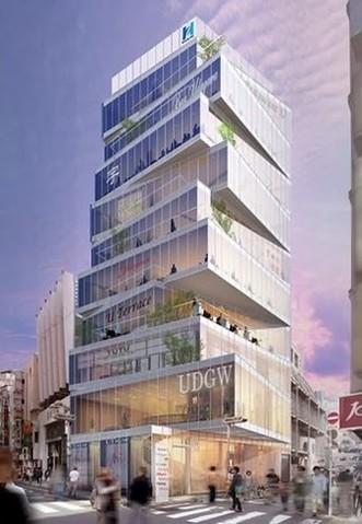 建設するビルの外観イメージ