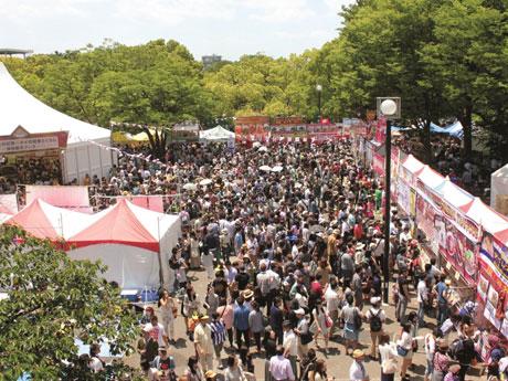 毎年30万人以上が来場する(写真は昨年の会場の様子)写真提供:ワイワイタイランド
