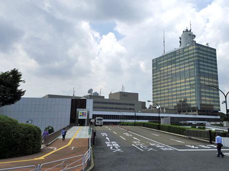 現在のNHK放送センター