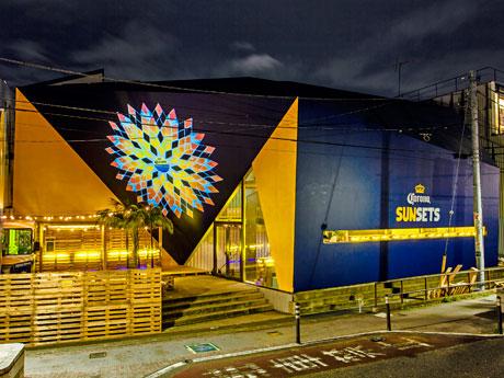 安藤忠雄さんが設計した建物に開く限定バーの外観