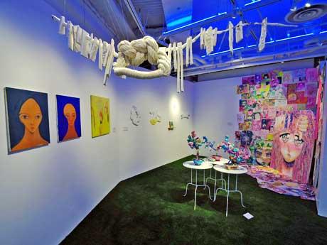 初参加クリエーターの作品を展示する「TOKYOシブカルランド。」