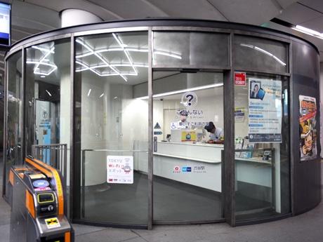 香りの空間演出を導入する渋谷駅ヒカリエ1改札のシースルー改札口