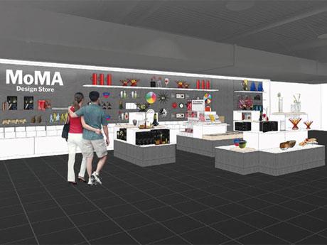 初のショップインショップとなる店舗のイメージ