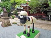 渋谷の街中に31体の「ショーン」オブジェ アート&チャリティープロジェクトで