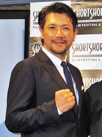 「ショートショート フィルムフェスティバル&アジア2016」記者会見での別所哲也さん