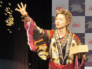 恵比寿で「鬼ちゃん」こと菅田将暉さんが豆まき 「WANIMA」ミニライブも