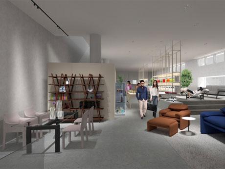外苑前「カッシーナ・イクスシー」本店大規模改装 オープンから20年目