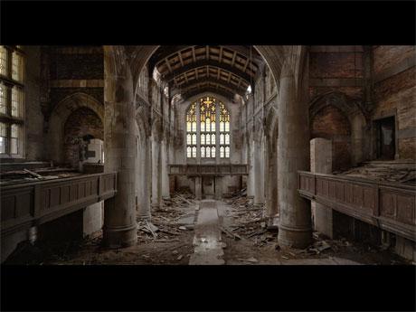 「人類遺産」より米国内のメソジスト教会©2016 Nikolaus Geyrhalter Filmproduktion GmbH