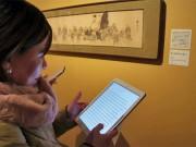 Bunkamura「これぞ暁斎!」展で多言語ガイドタブレット NTT東日本とコラボ