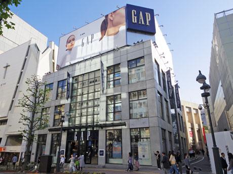 公園通り沿いの「GAPストア渋谷店」外観