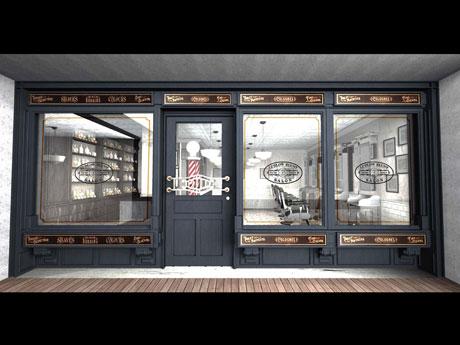 NY本店の再現を図るという代官山店の外観イメージ