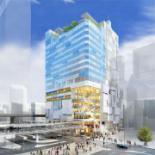 渋谷駅西口再開発のビル外観デザイン発表 東急プラザ渋谷跡など活用