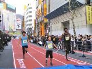 渋谷・ファイヤー通りが陸上トラックに 義足ランナーら60メートル世界記録に挑戦