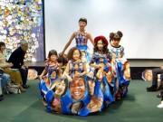 渋谷で東京五輪・パラ向け「文化」イベント ファッションショーで「笑顔」のドレス披露