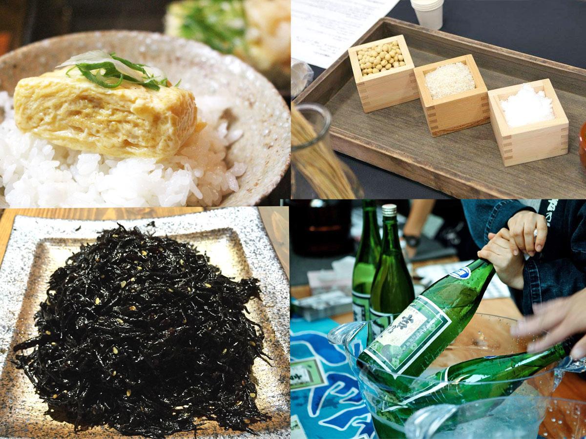 ご飯のお供の食べ比べや日本酒・甘酒の提供などを行う(写真はイメージ)