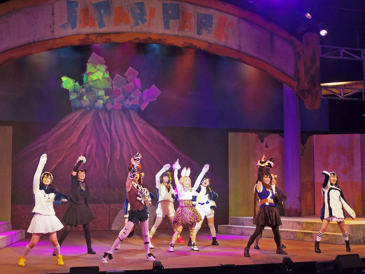 渋谷の2.5次元ミュージカル専門劇場で舞台「けもフレ」再演 新曲含む18曲披露