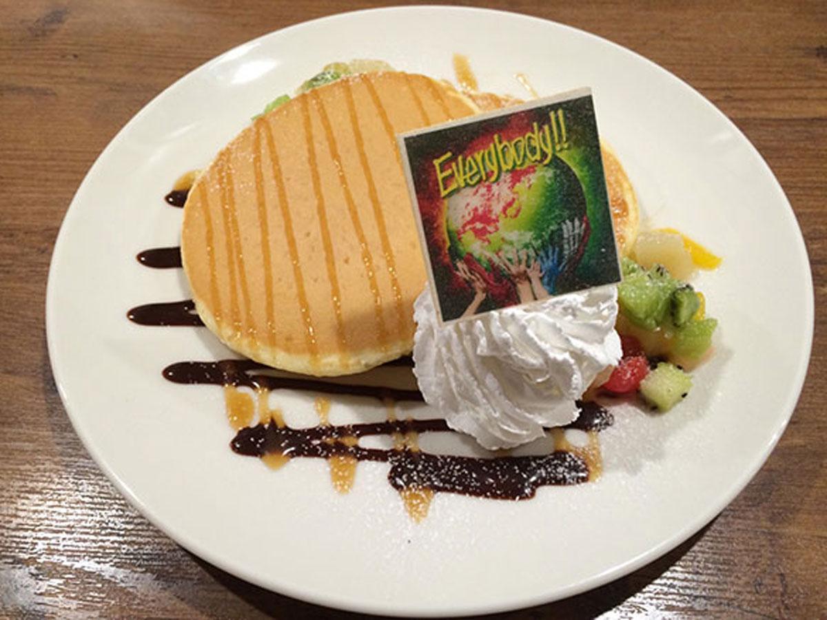 期間中提供するパンケーキ(1,200円)