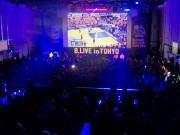 恵比寿で「Bリーグ」オールスター戦ライブビューイング 音や振動などで「臨場感」演出