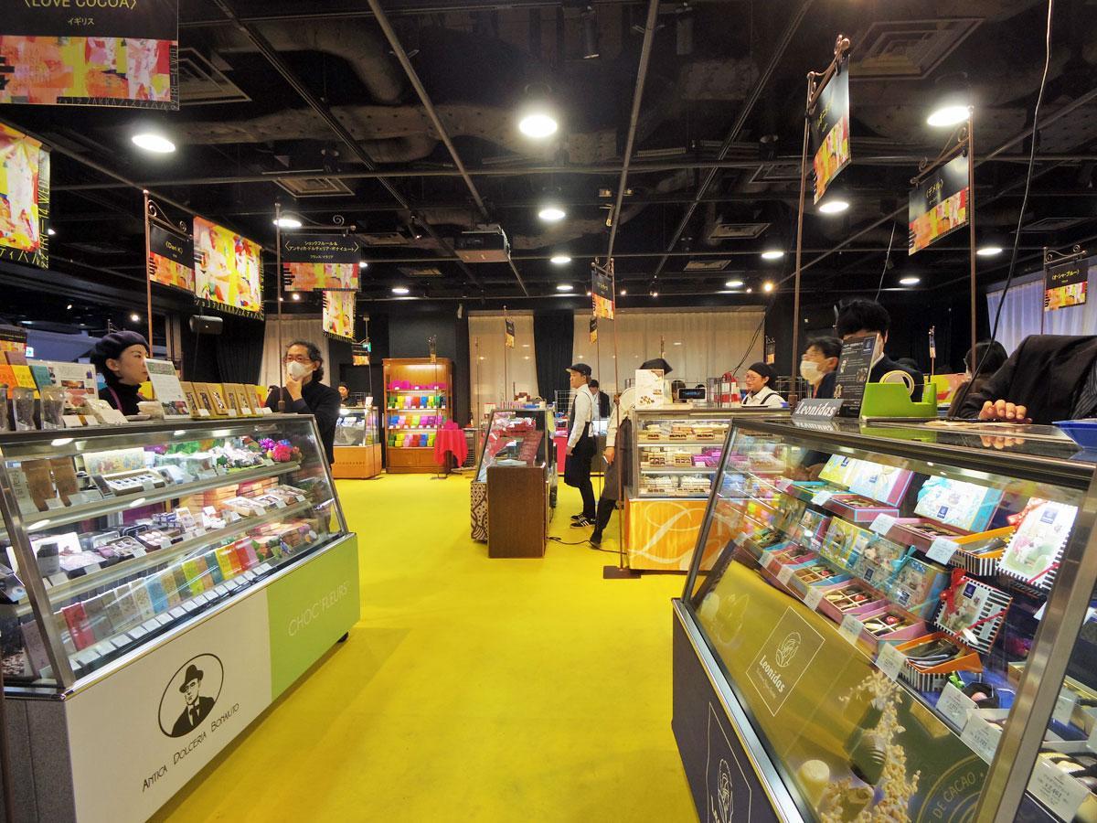 34ブランドが出店する「ショコラZakkaフェスティバル」会場
