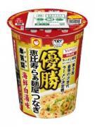 恵比寿・つなぎ考案「海鮮白湯味」、次世代ラーメン決定戦制しカップ麺化