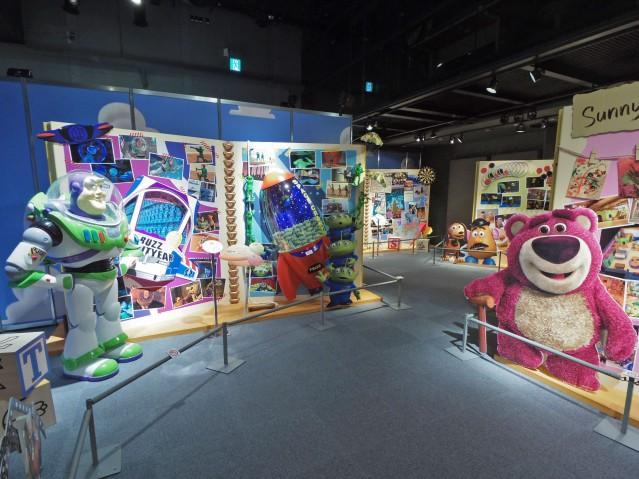 昨年ラフォーレミュージアム原宿で開催された体験型「ピクサー」展より©Disney/Pixar