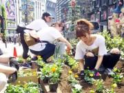 「ロックコープス」アンバサダー高橋みなみさん、渋谷でボランティア活動