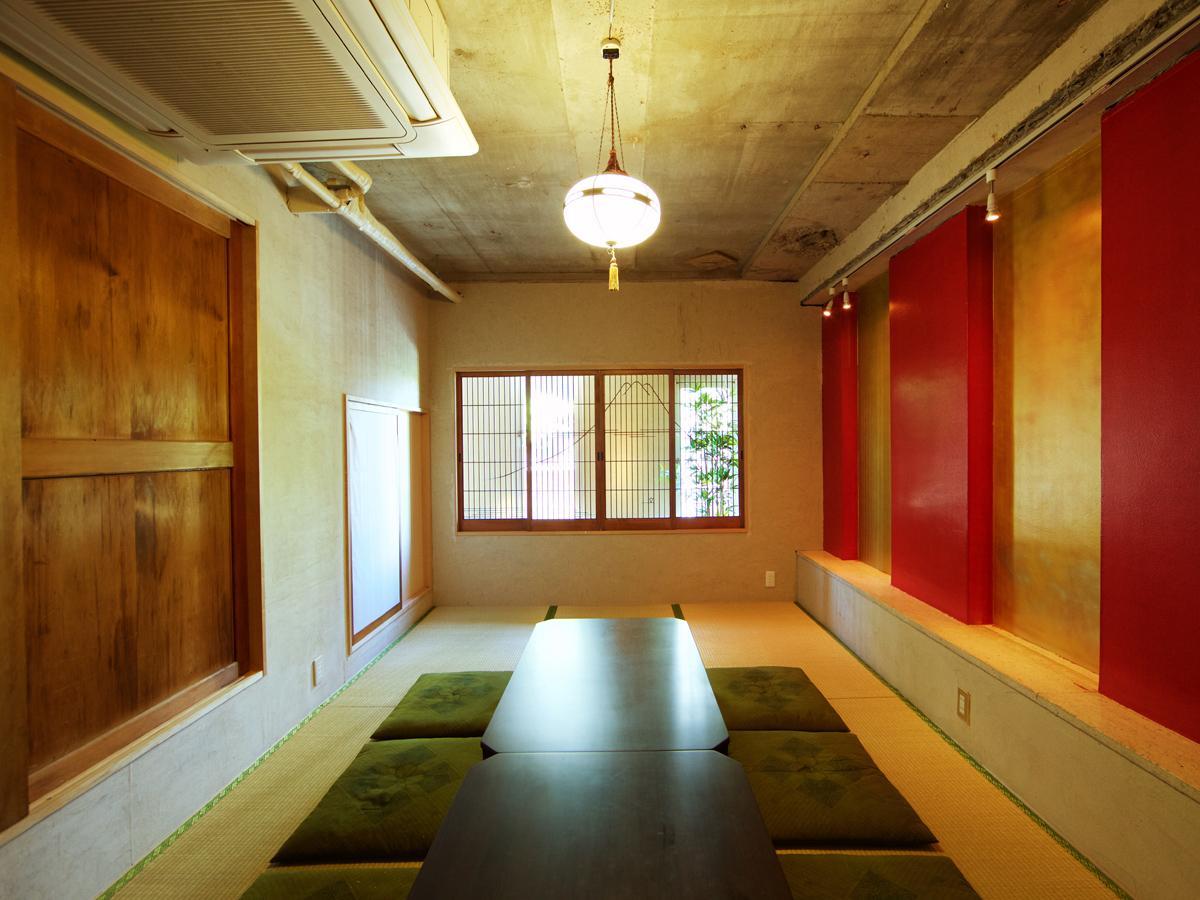 キャットストリート近くにオープンした和室レンタルスペース「ミチヲシル」の一部屋「OZASHIKI」