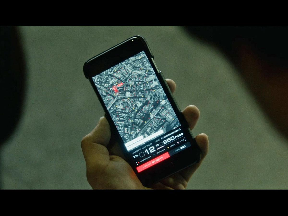 「音声AR」技術と連動したスマートフォン上の地図や音声情報をヒントにミッションに挑む(写真はイメージ)