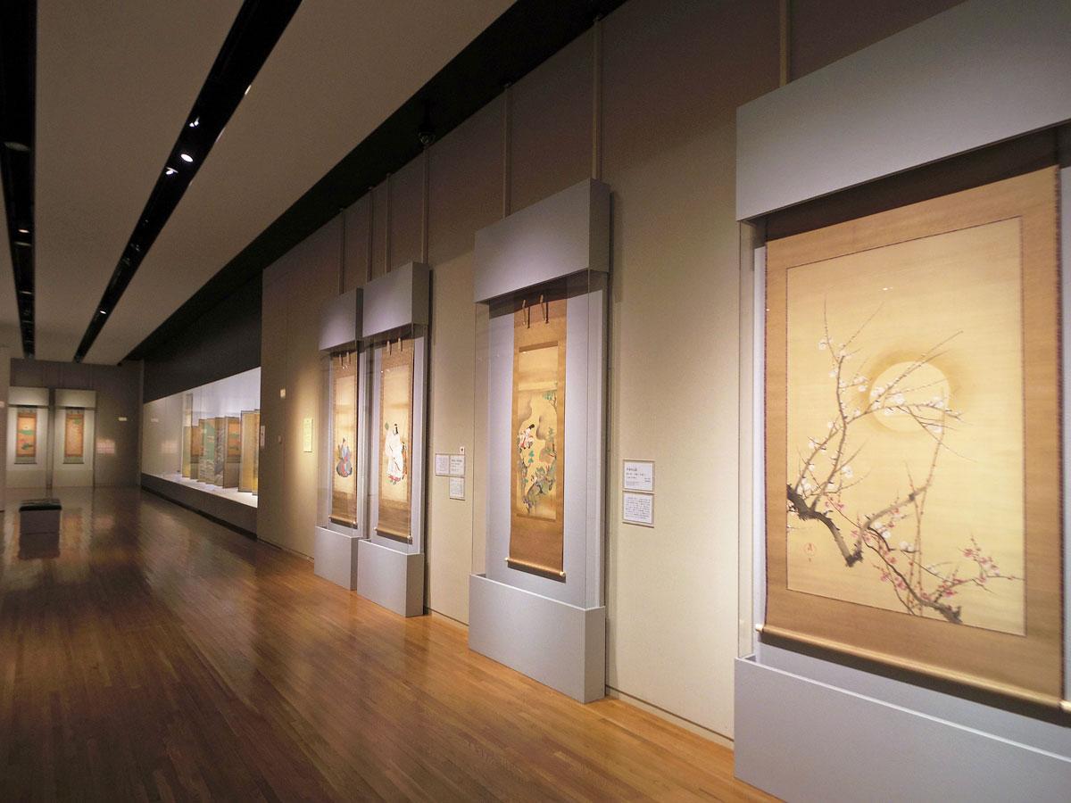 17世紀~20世紀の作品を展示し琳派の伝統を辿る