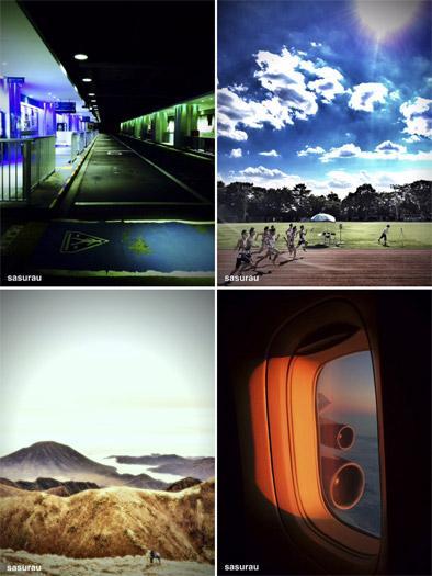 講師を務める三井公一さんがスマートフォンで撮影した作品