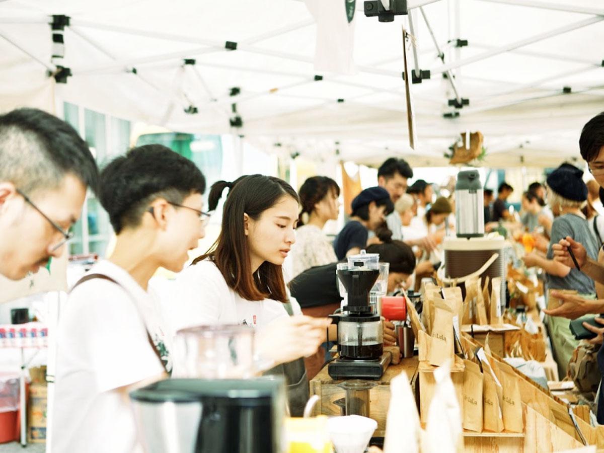 会場にはロースターやコーヒーショップなど約70店舗が出店する(写真は過去開催時の様子)