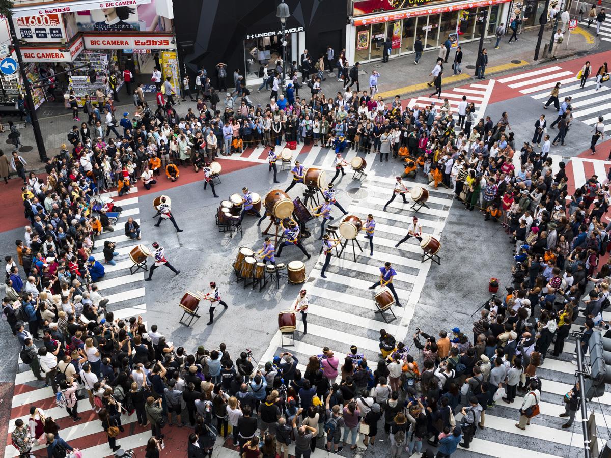 「渋谷音楽祭」過去開催時の様子