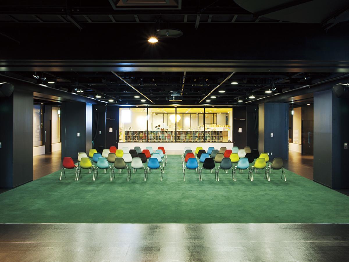 会場の一つとなるイベントスペース「8/COURT」(画像提供=渋谷ヒカリエ)
