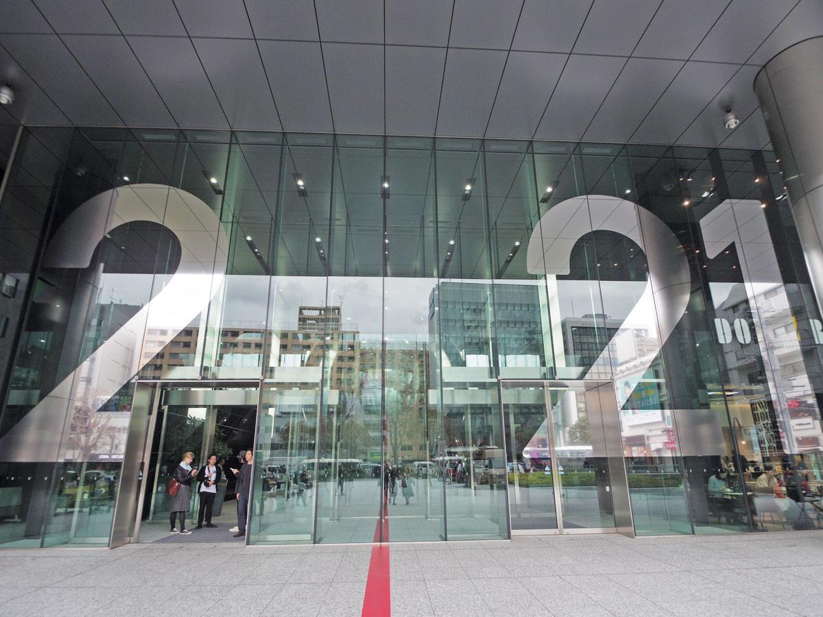 エイベックス本社ビルで展開するアーティスト藤元明さんと建築家・永山祐子さんのインスタレーション「2021#Tokyo Scape」