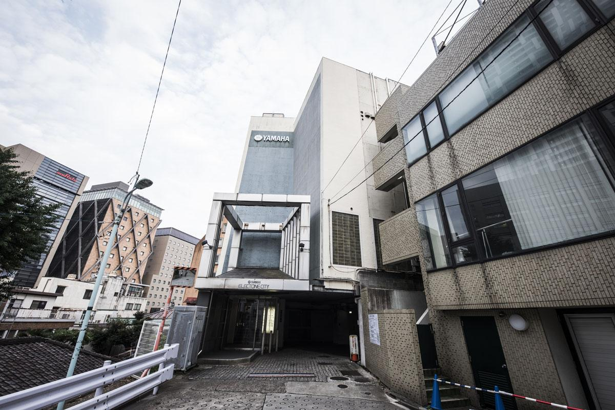「崖の上のヤマハ」とも称された旧「ヤマハエレクトーンシティー渋谷」